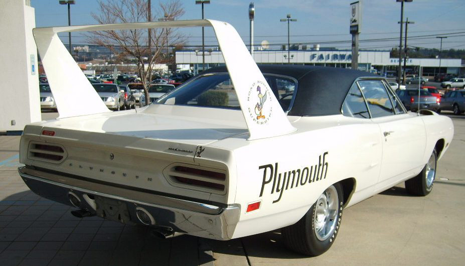 1970 PLYMOUTH SUPERBIRD 2 DOOR  HARDTOP - Rear 3/4 - 63819