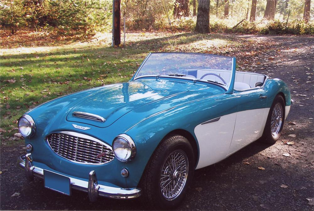 1960 AUSTIN-HEALEY 3000 BT7 ROADSTER - Front 3/4 - 63822