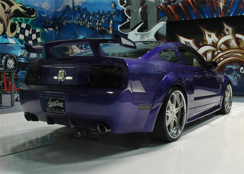 "2008 FORD MUSTANG ""SHELBY/WCC CUSTOM MUSTANG"" - Rear 3/4 - 63827"