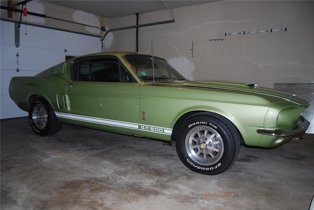 1967 SHELBY GT500 FASTBACK - Front 3/4 - 63828