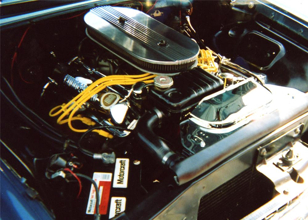 1961 FORD GALAXIE SUNLINER CONVERTIBLE - Engine - 63829