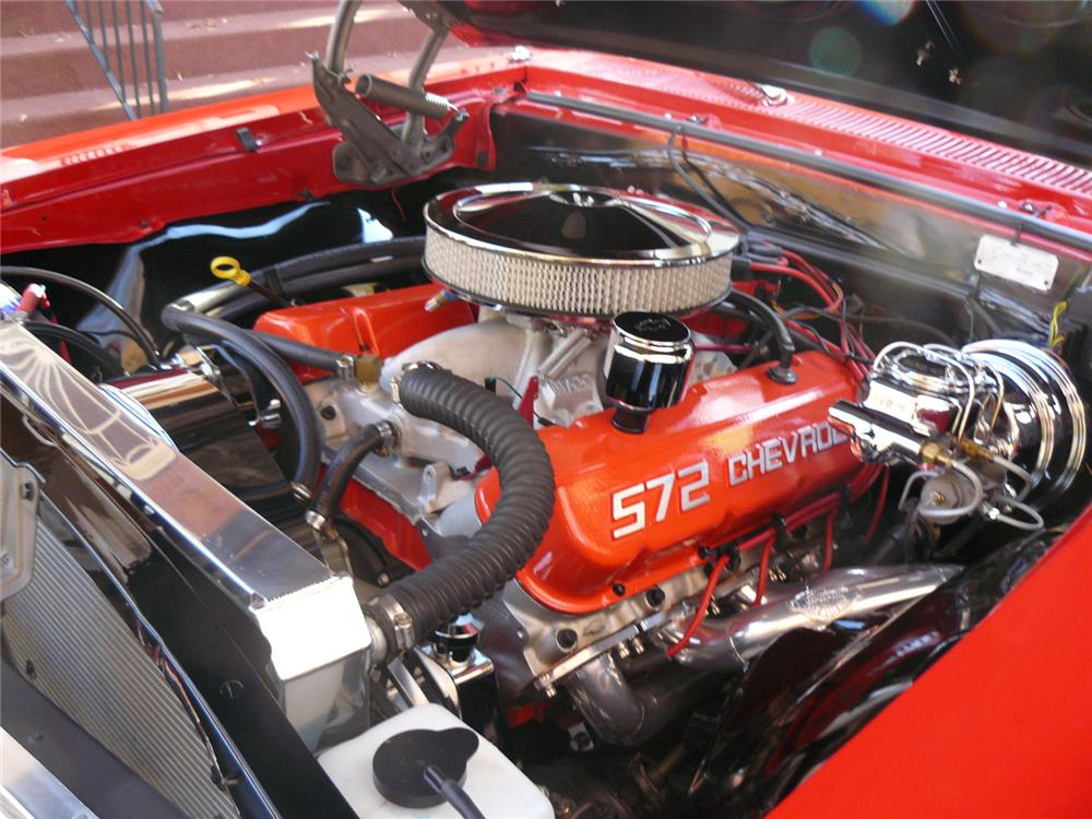 1967 CHEVROLET CHEVELLE SS 396 2 DOOR COUPE - Engine - 63830