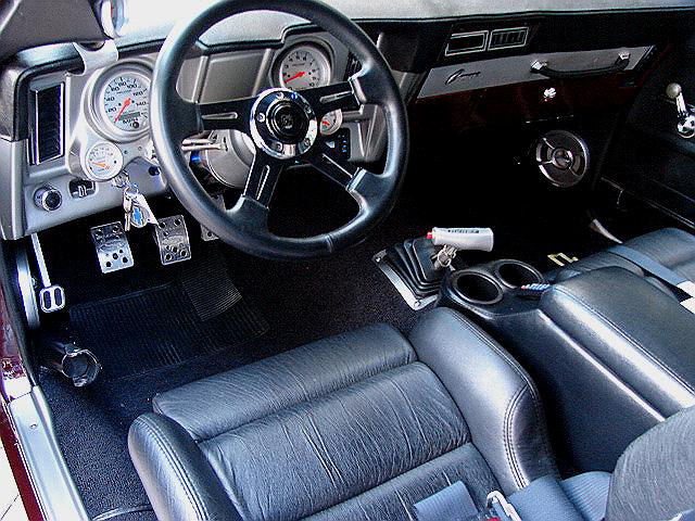 1969 CHEVROLET CAMARO CUSTOM COUPE - Interior - 63831