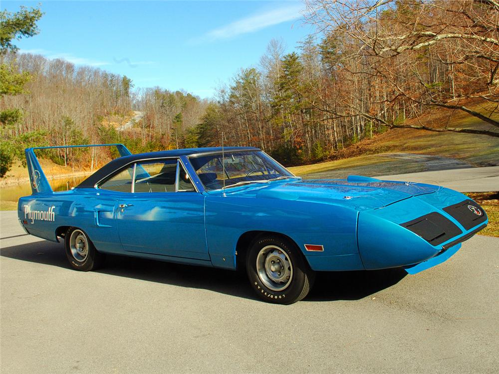 1970 PLYMOUTH SUPERBIRD 2 DOOR  HARDTOP - Front 3/4 - 63838