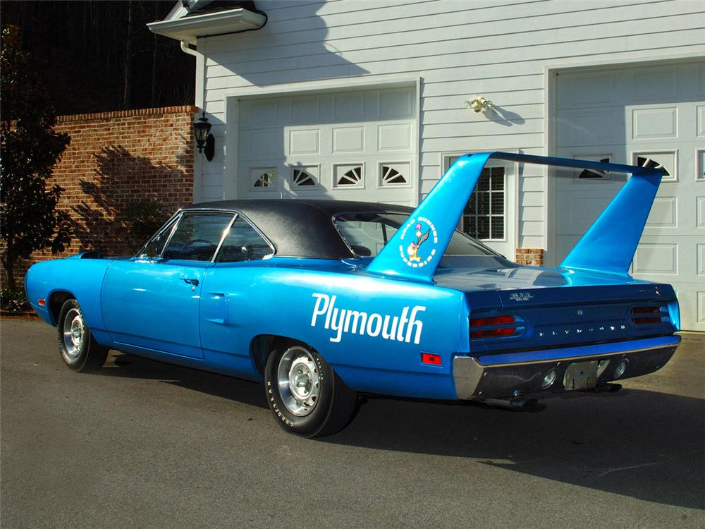 1970 PLYMOUTH SUPERBIRD 2 DOOR  HARDTOP - Rear 3/4 - 63838