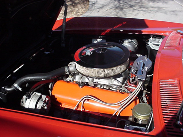 1965 CHEVROLET CORVETTE COUPE - Engine - 63846