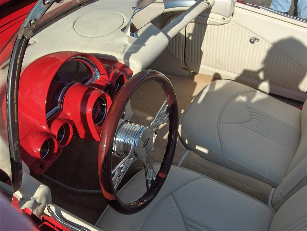 1959 CHEVROLET CORVETTE CUSTOM CONVERTIBLE - Interior - 63848