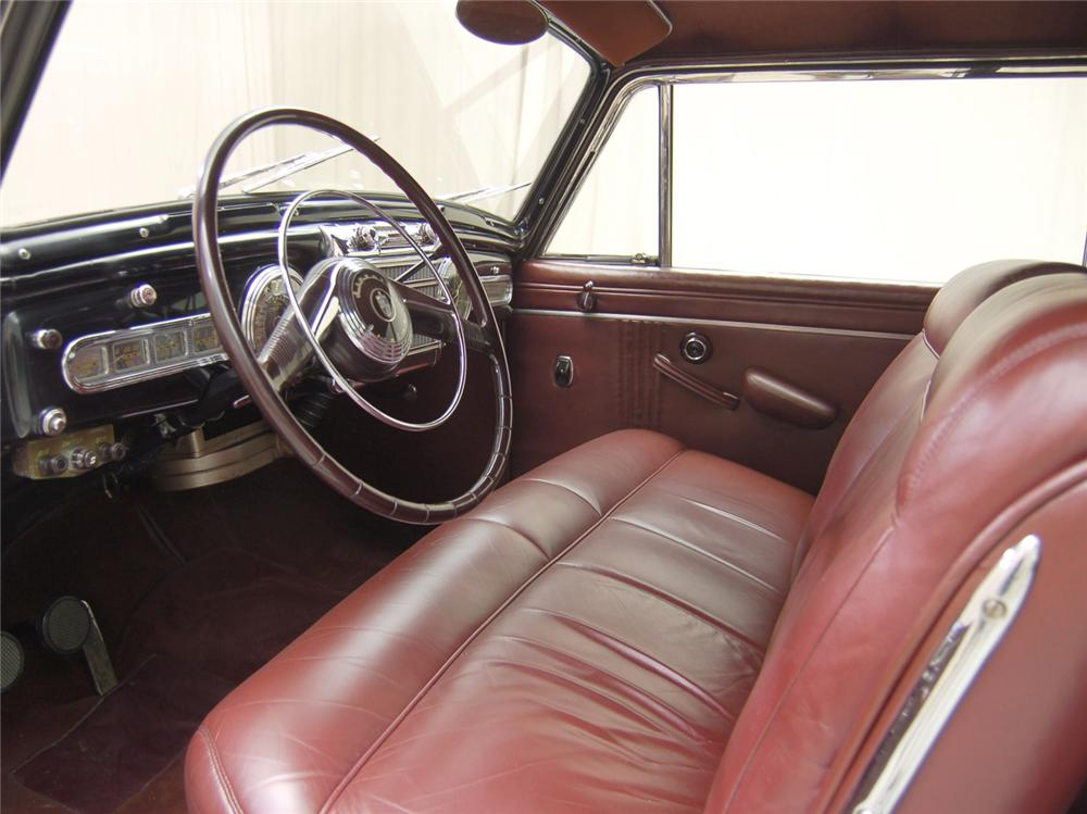 1947 LINCOLN CONTINENTAL COUPE - Interior - 63851
