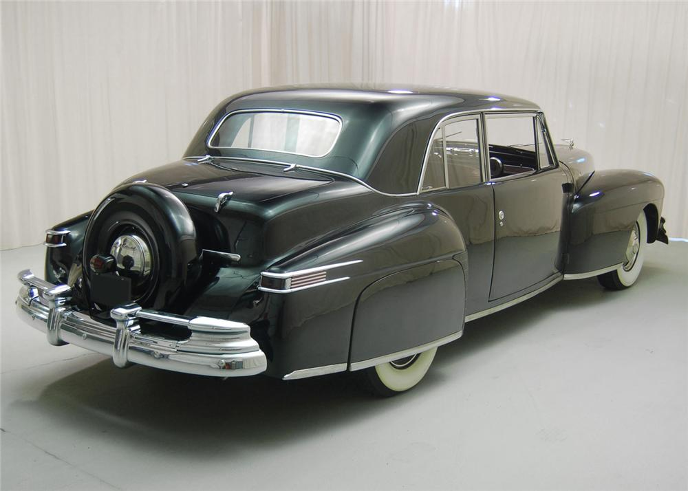 1947 LINCOLN CONTINENTAL COUPE - Rear 3/4 - 63851