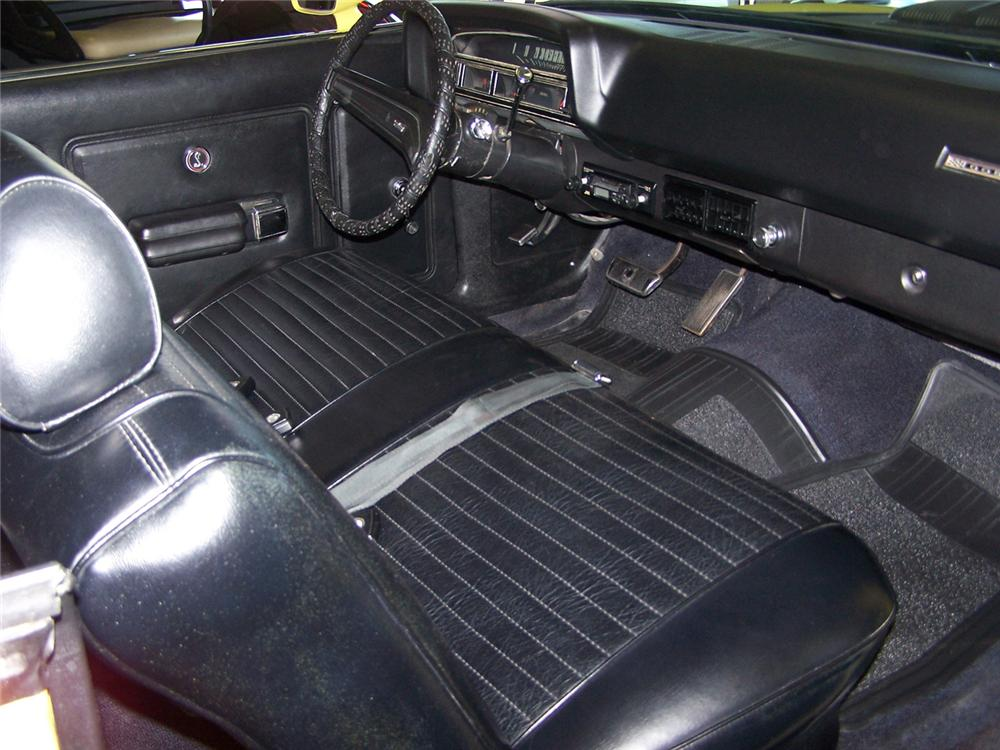 1970 FORD TORINO COBRA SPORTSROOF - Interior - 63853