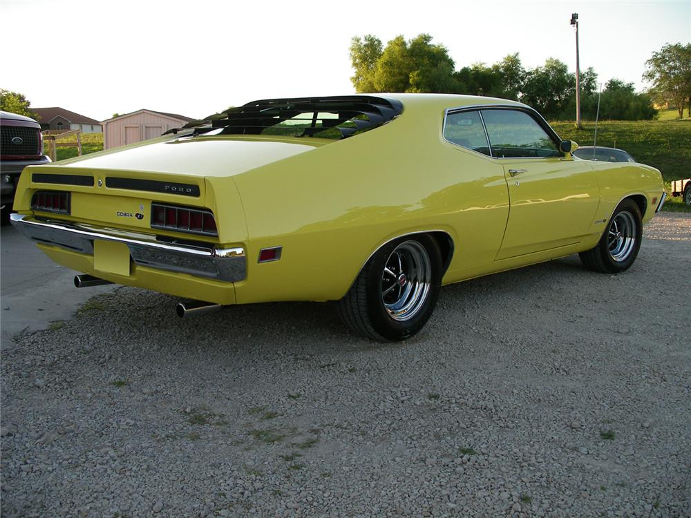 1970 FORD TORINO COBRA SPORTSROOF - Rear 3/4 - 63853