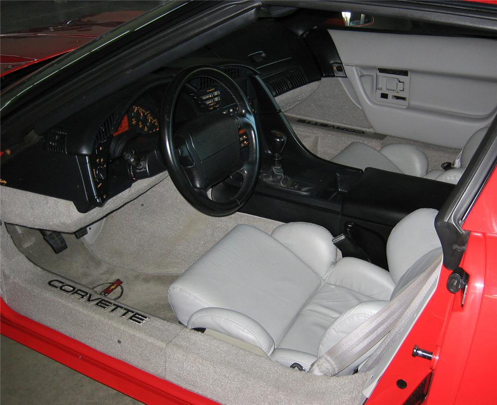 1992 chevrolet corvette coupe 1992 corvette interior parts