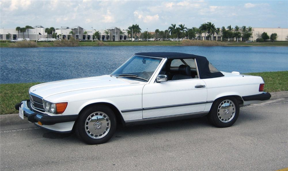 1989 MERCEDES-BENZ 560SL ROADSTER - Side Profile - 63856