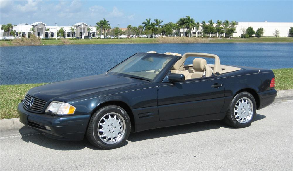 1998 MERCEDES-BENZ 500SL ROADSTER - Front 3/4 - 63857