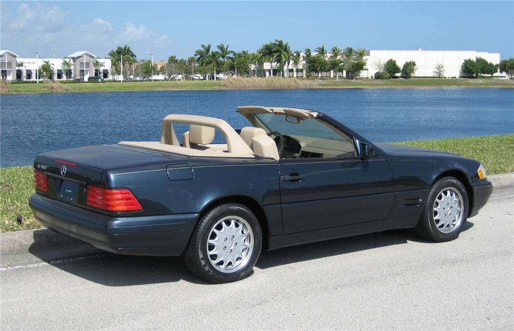 1998 MERCEDES-BENZ 500SL ROADSTER - Rear 3/4 - 63857