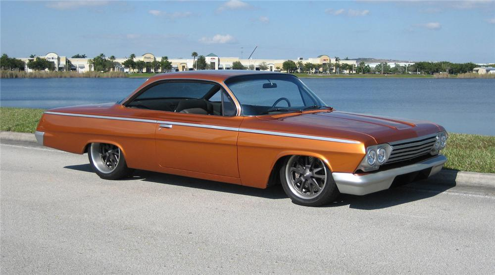 1962 CHEVROLET BEL AIR CUSTOM BUBBLETOP - Front 3/4 - 63860