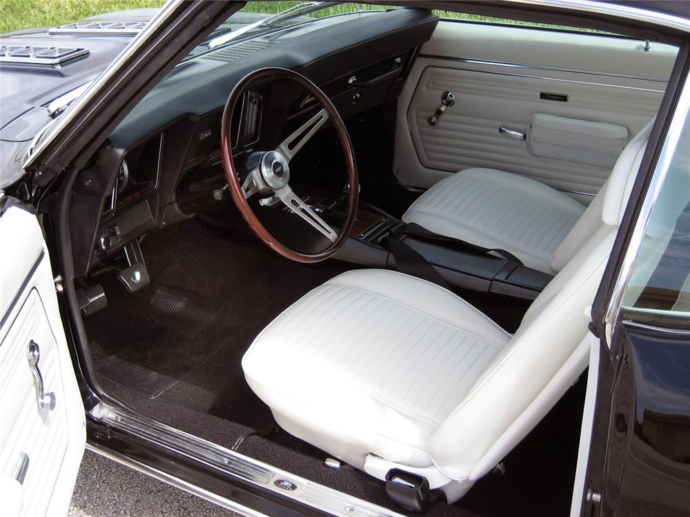1969 CHEVROLET CAMARO RS/SS COUPE - Interior - 63862