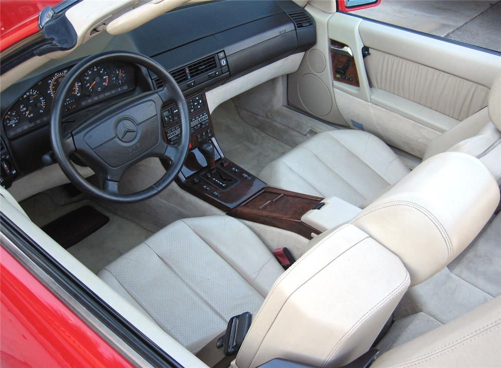 1993 MERCEDES-BENZ 600SL ROADSTER - Interior - 63865