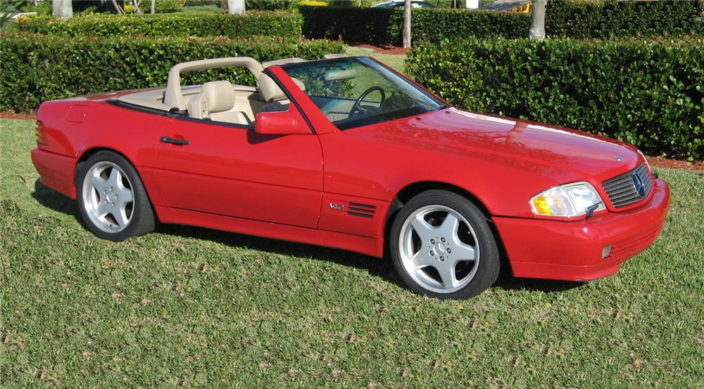 1993 MERCEDES-BENZ 600SL ROADSTER - Side Profile - 63865