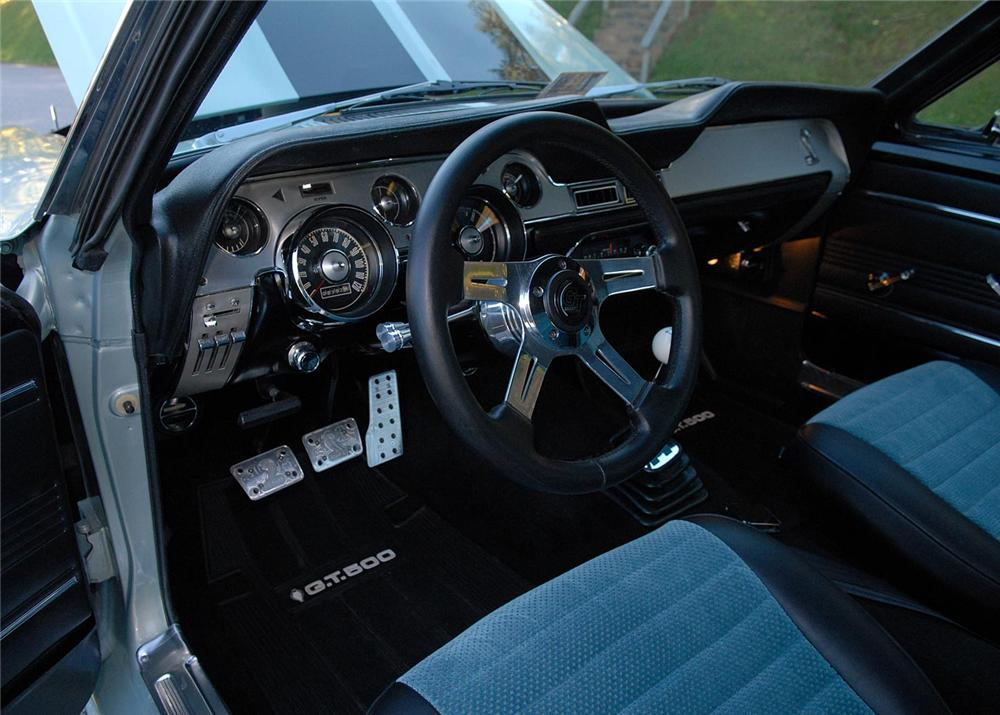 1967 FORD MUSTANG CUSTOM FASTBACK - Interior - 63867