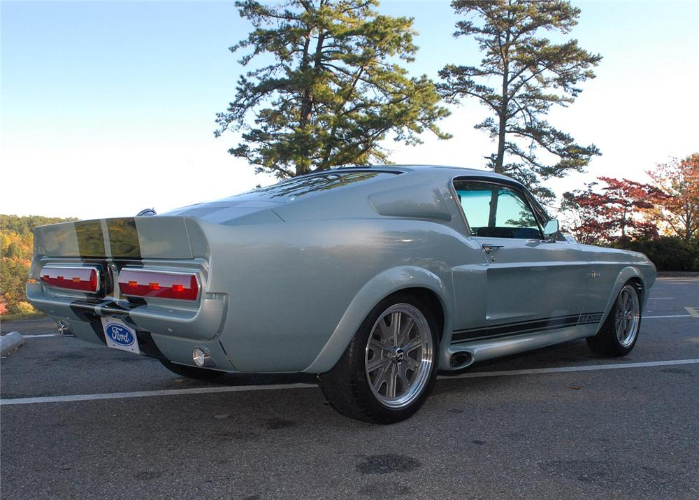 1967 FORD MUSTANG CUSTOM FASTBACK - Rear 3/4 - 63867