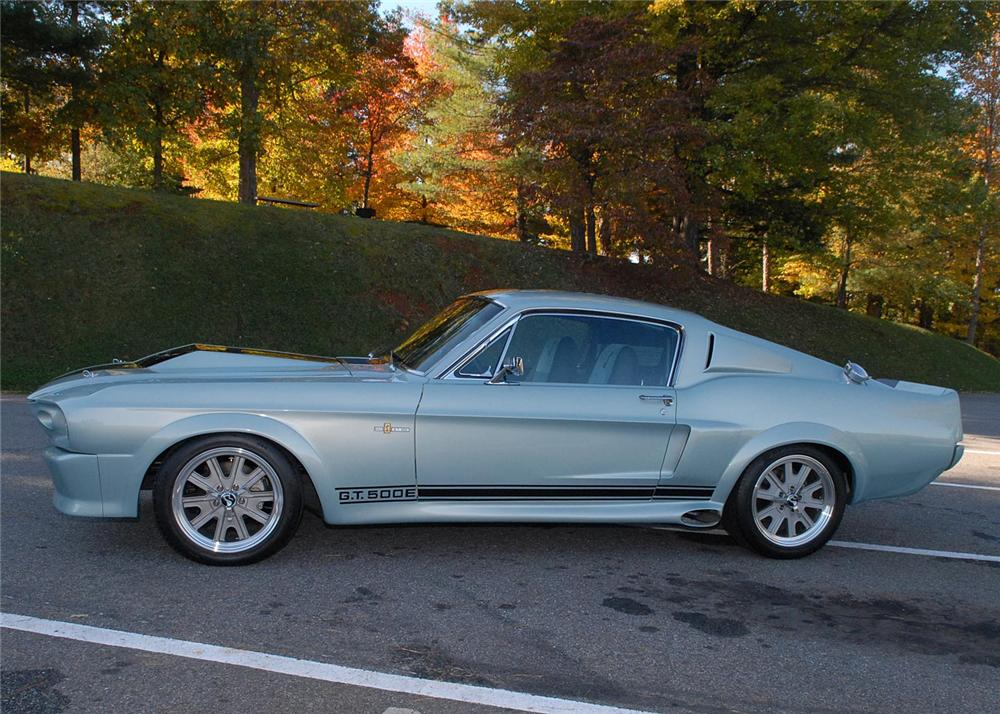 1967 FORD MUSTANG CUSTOM FASTBACK - Side Profile - 63867