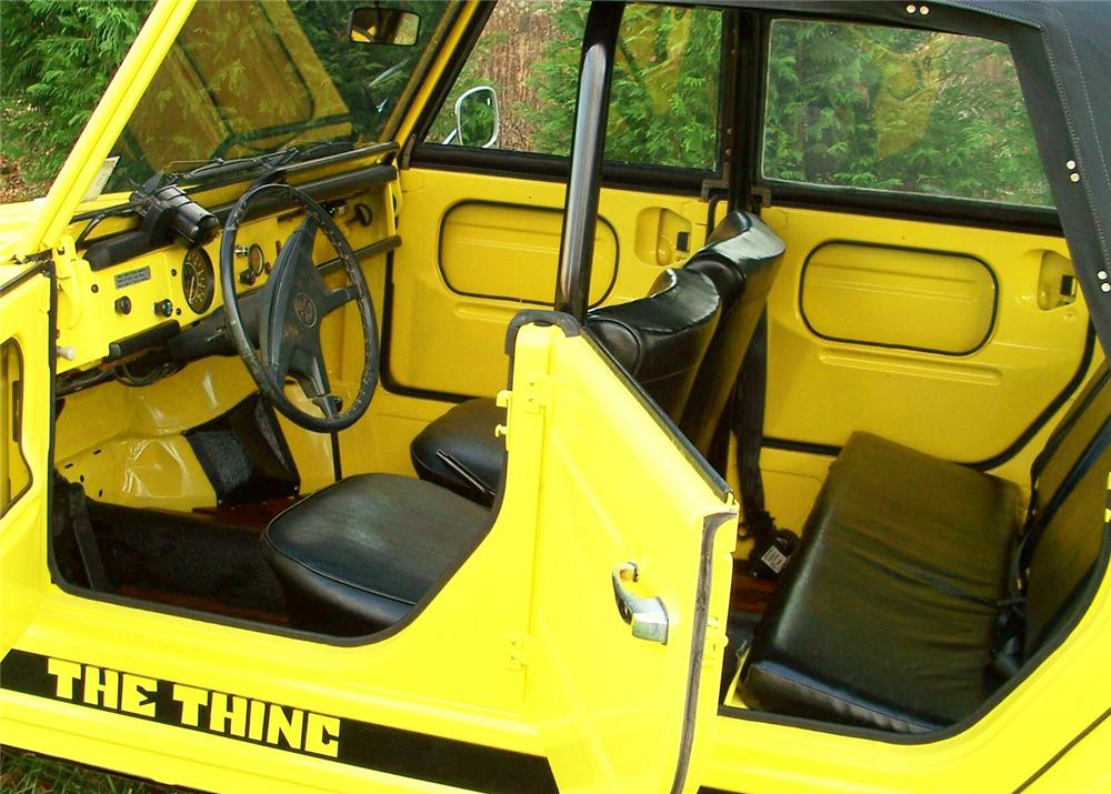 1973 VOLKSWAGEN THING CONVERTIBLE - Interior - 63869