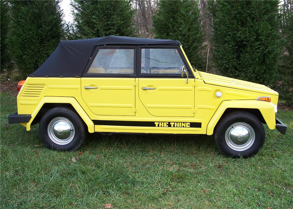 1973 VOLKSWAGEN THING CONVERTIBLE - Side Profile - 63869