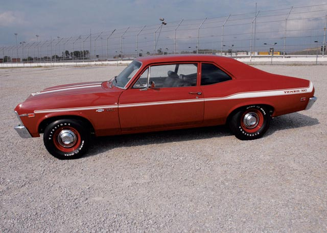 1969 CHEVROLET NOVA YENKO RE-CREATION HARDTOP - Front 3/4 - 63871