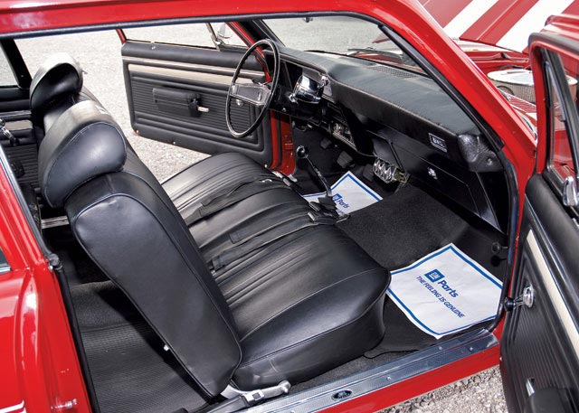 1969 CHEVROLET NOVA YENKO RE-CREATION HARDTOP - Interior - 63871
