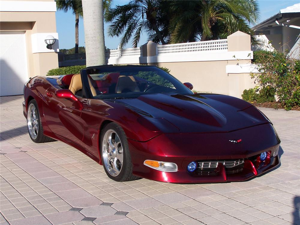 2000 CHEVROLET CORVETTE AVELATE CUSTOM CONVERTIBLE - Front 3/4 - 63873