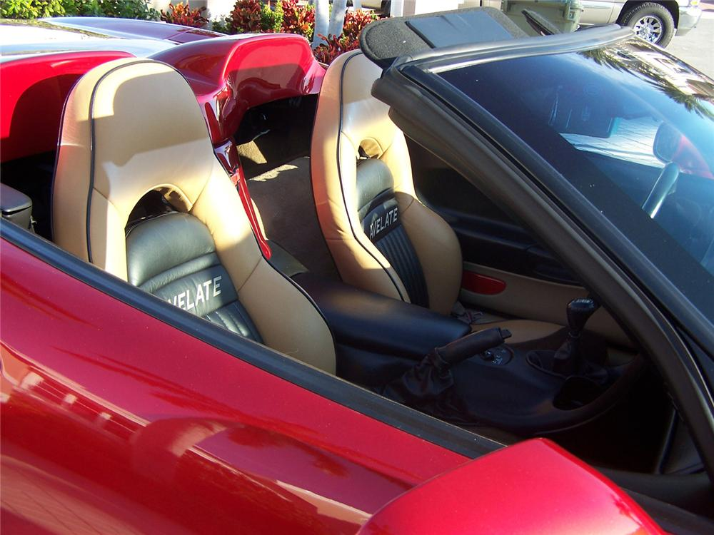 2000 CHEVROLET CORVETTE AVELATE CUSTOM CONVERTIBLE - Interior - 63873