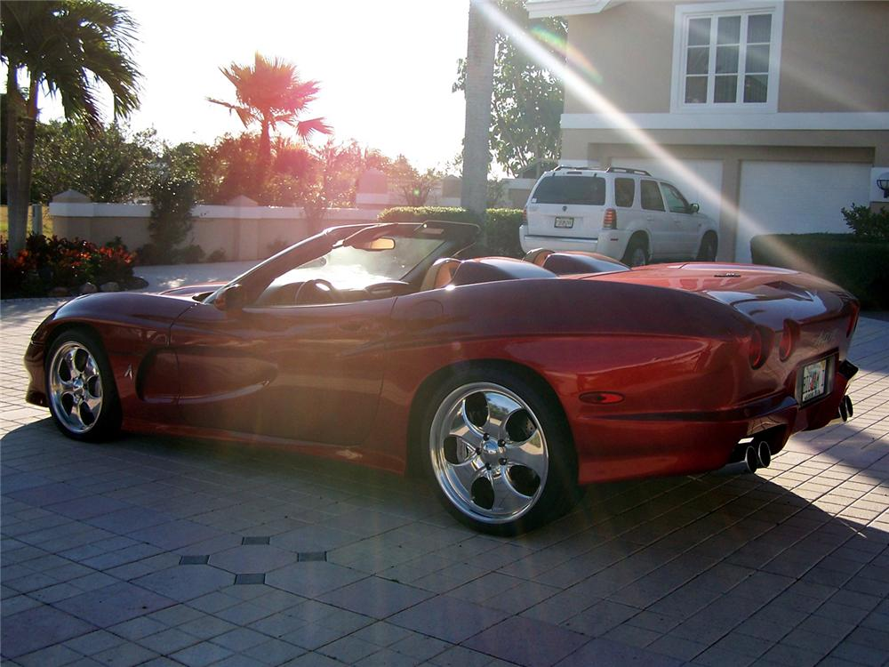 2000 CHEVROLET CORVETTE AVELATE CUSTOM CONVERTIBLE - Rear 3/4 - 63873