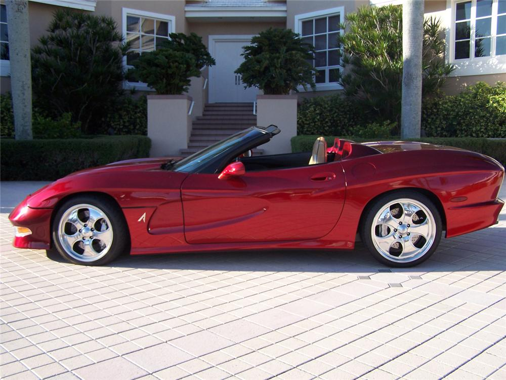 2000 CHEVROLET CORVETTE AVELATE CUSTOM CONVERTIBLE - Side Profile - 63873