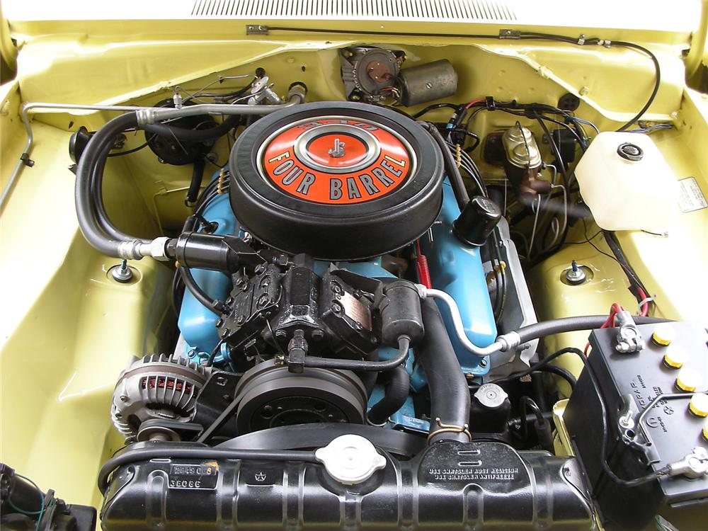 1969 DODGE DART GTS CONVERTIBLE - Engine - 63878