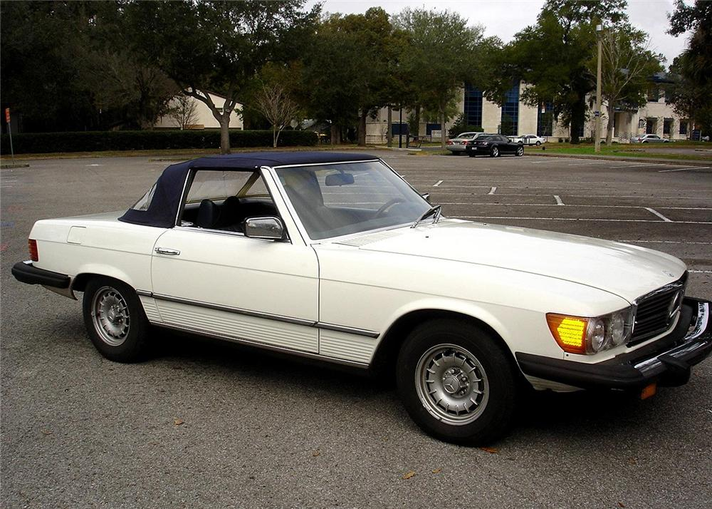 1978 MERCEDES-BENZ 450SL ROADSTER CONVERTIBLE - Side Profile - 63883