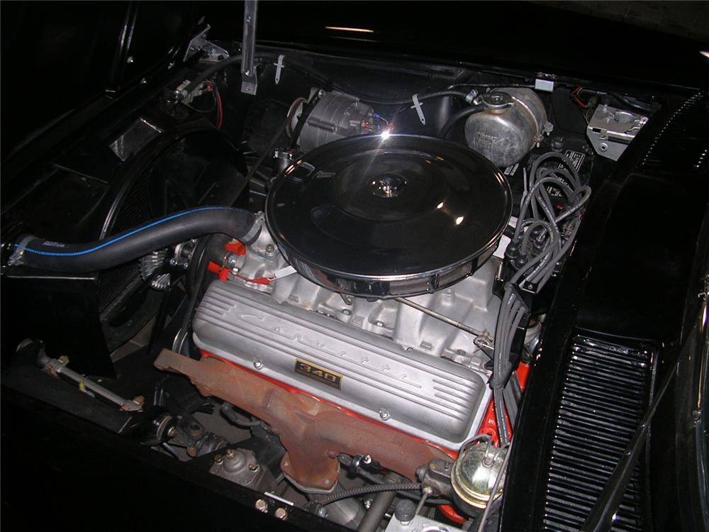 1963 CHEVROLET CORVETTE CONVERTIBLE - Engine - 63886