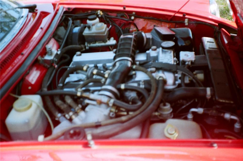 1986 ALFA ROMEO SPIDER CONVERTIBLE - Engine - 63889