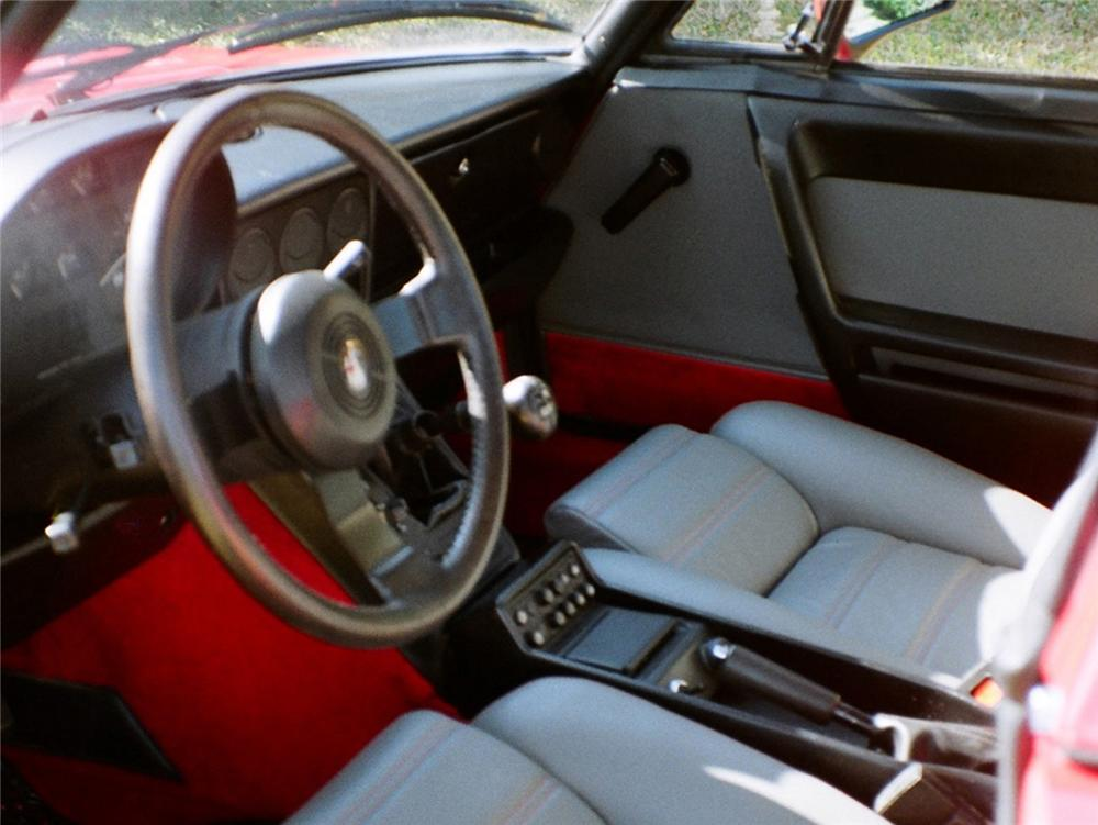 1986 ALFA ROMEO SPIDER CONVERTIBLE - Interior - 63889