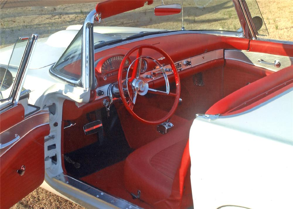 1956 FORD THUNDERBIRD CONVERTIBLE - Interior - 63904