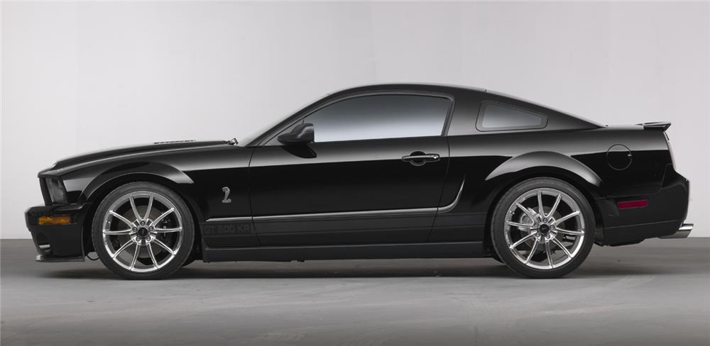 "2008 FORD MUSTANG GT ""KITT"" FROM KNIGHT RIDER - Rear 3/4 - 63909"