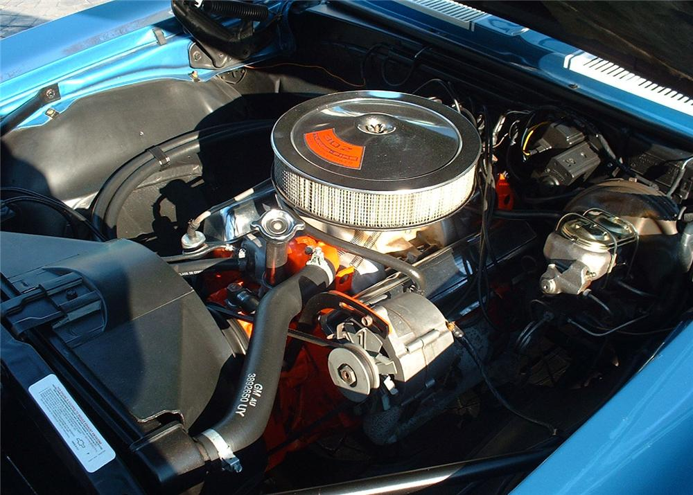 1968 CHEVROLET CAMARO Z/28 COUPE - Engine - 63912
