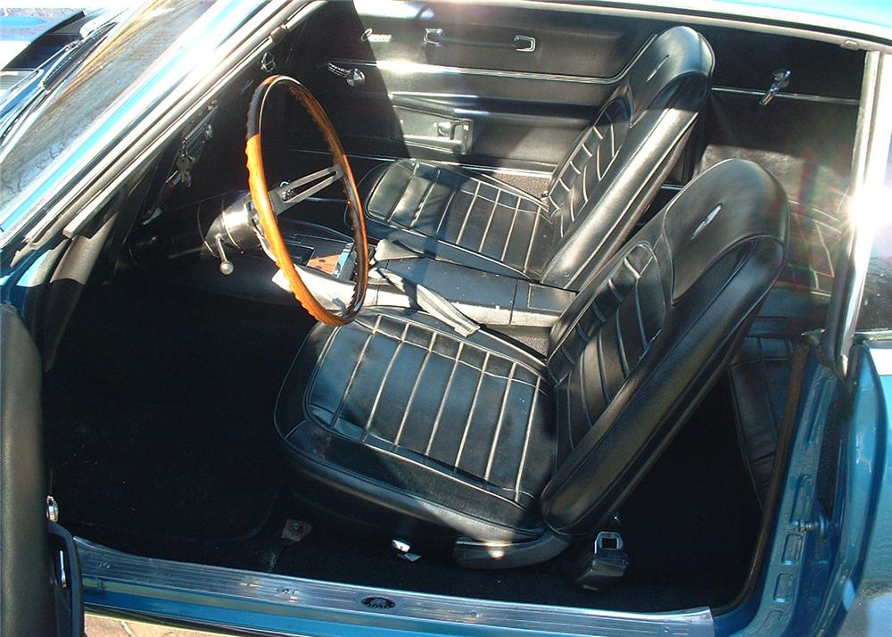 1968 CHEVROLET CAMARO Z/28 COUPE - Interior - 63912