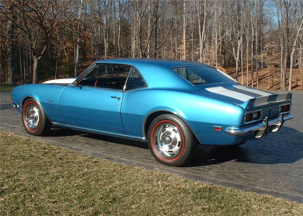 1968 CHEVROLET CAMARO Z/28 COUPE - Rear 3/4 - 63912