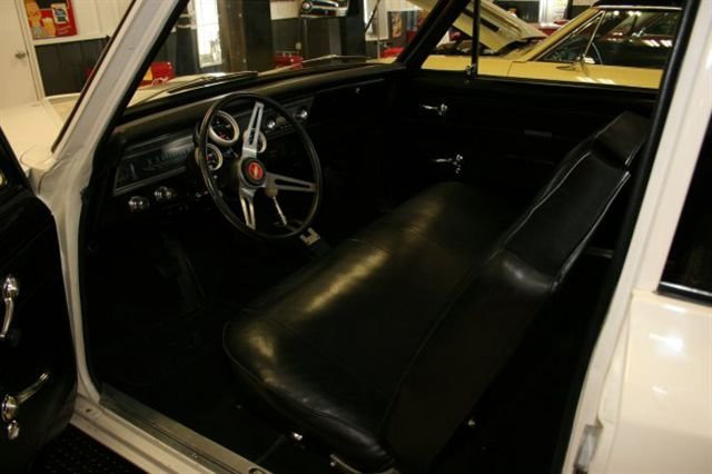 1967 CHEVROLET NOVA 2 DOOR HARDTOP - Interior - 63933