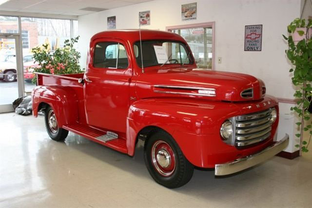 1950 FORD 1/2 TON PICKUP - Front 3/4 - 63934