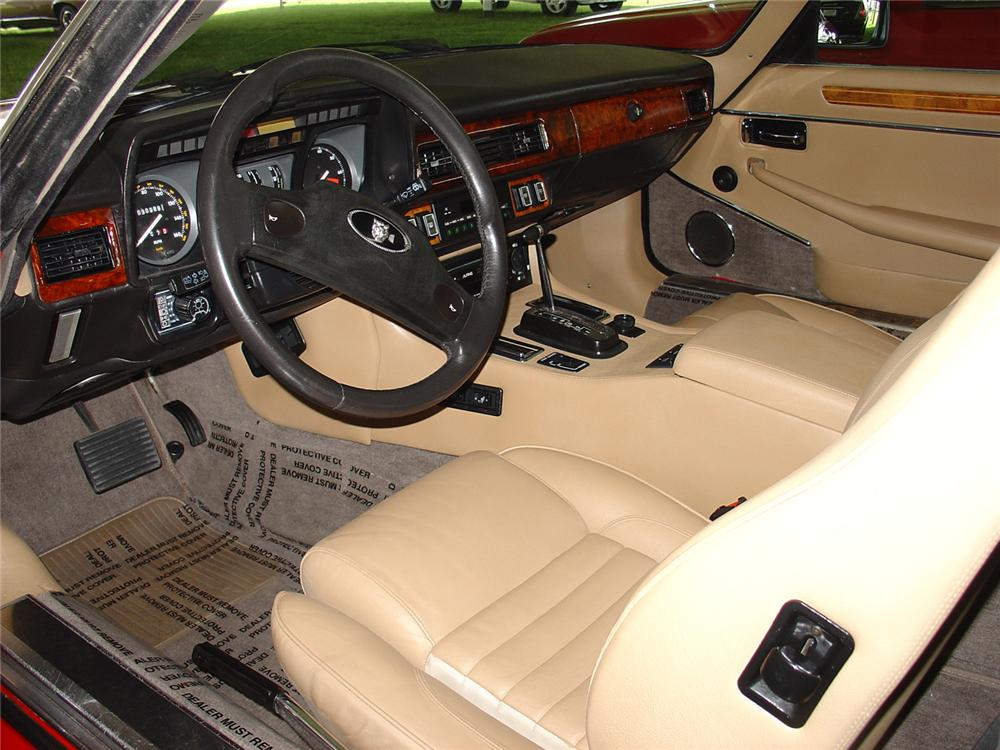 1989 JAGUAR XJS CONVERTIBLE - Interior - 63948