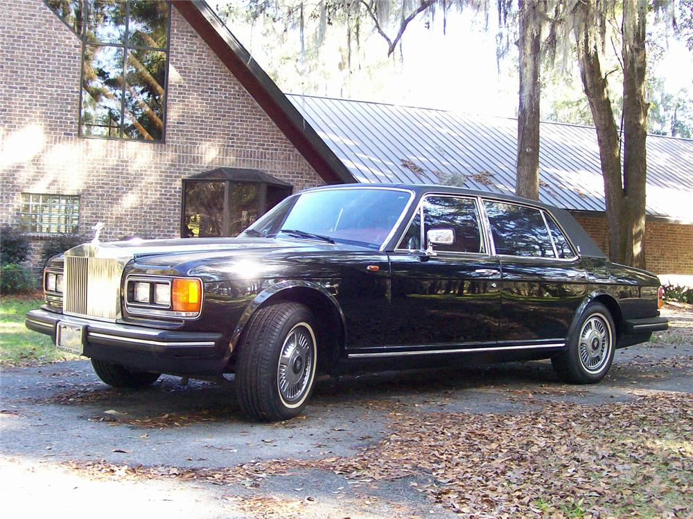 1985 ROLLS-ROYCE SILVER SPUR 4 DOOR SEDAN - Front 3/4 - 63960