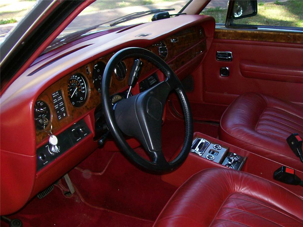1985 ROLLS-ROYCE SILVER SPUR 4 DOOR SEDAN - Interior - 63960