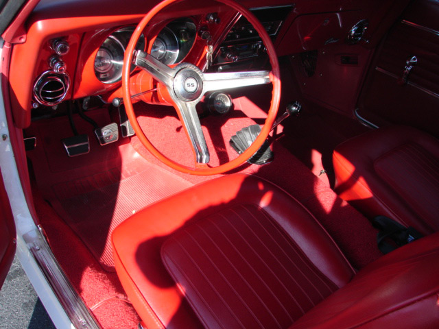 1968 CHEVROLET CAMARO RS/SS COUPE - Interior - 63962